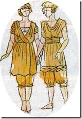 roupas de banho 1812