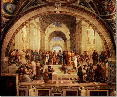 Escola de Atenas, Rafael. 1510-11 Vaticano