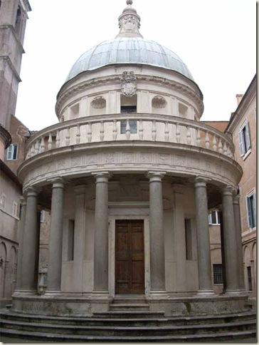 Tempietto, Bramante. 1444-1514. Roma