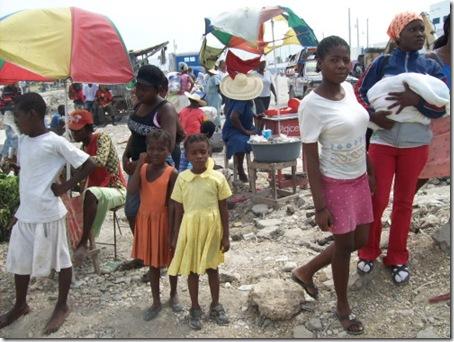 Mercado Informal - Porto Príncipe - Haiti