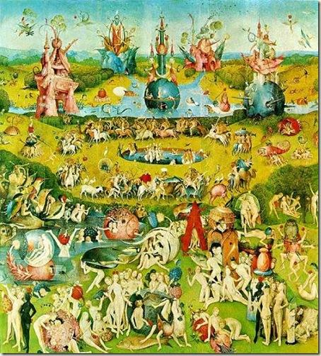 O Jardim das Delícias Terrestres, Hieronymus Bosch