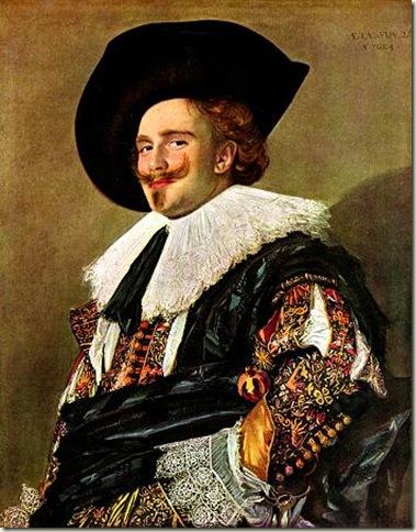 O Cavaleiro Sorridente, Frans Hals, 1624.