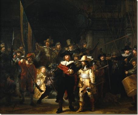 A  Guarda Noturna ou Ronda da Noite, Rembrandt, 1642