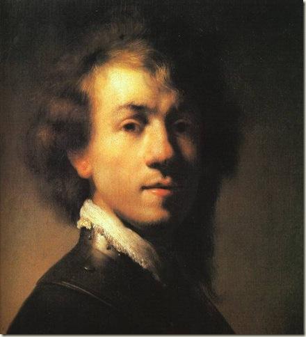 Rembrandt van Rijn, Auto-Retrato, c. 1629-1630