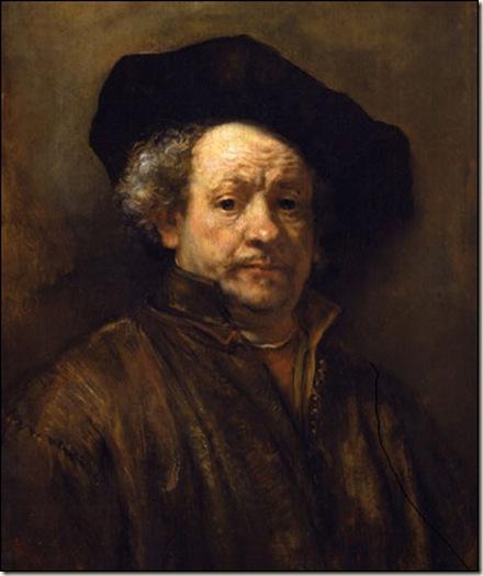 Rembrandt van Rijn, Auto-Retrato, 1660.