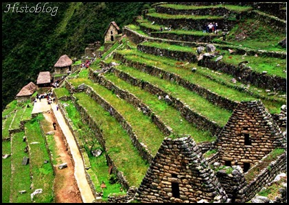 Histoblog039 -Terraços agrícolas nas ruínas de Machu Picchu