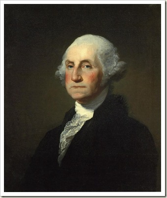 George Washington (O Retrato de Athenaeum) Gilbert Stuart - 1796