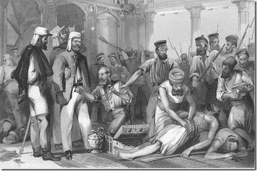 Revolta dos Cipaios  dominação britânica na Índia