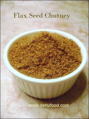 Flaxseed Chutney
