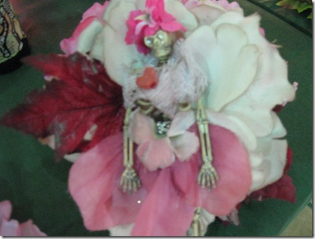 Catrina Halloween Corsages FOL sale garden ridge 008
