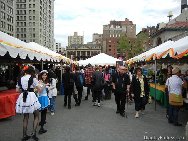 Annual Asian Culture celebration at Union Square, 2011.