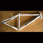 Bike Frame Da Bomb Rapid XC - White