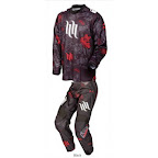 Motocross Jersey & Pant One Industries Carbon Hart Huntington Black Red