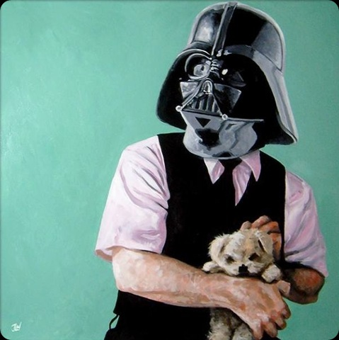 cool star wars photos darth vader with teddy bear