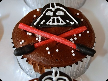 cool star wars photos darth vader cupcakes