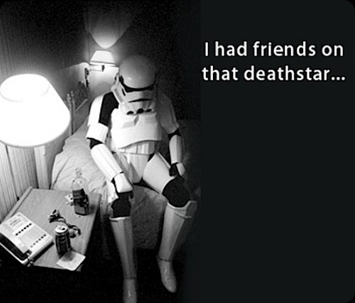 cool star wars photos stormtrooper sad