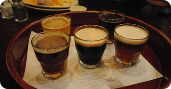 flight of beers