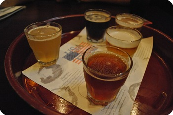 USA beer flight