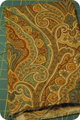 Paisley fabric