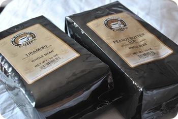 Tiramisu and Peanut Butter Cup Coffees