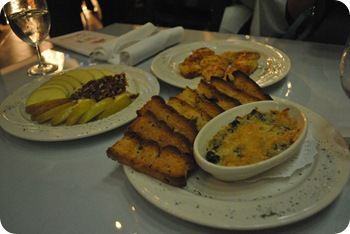 appetizers at Nonnah's
