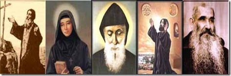 Saints of Lebanon