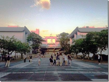 cuhk_campus_evening