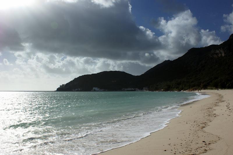 O Céu, a Arrábida e o mar