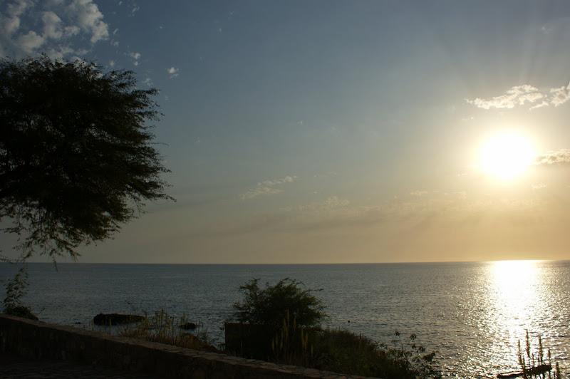 Pôr do Sol na Praia, Santiago, Cabo Verde