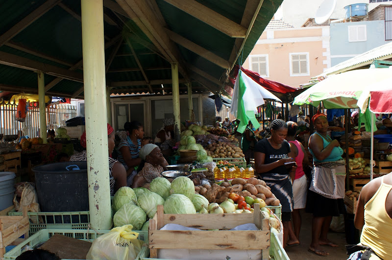 Mercado do Palteau, Praia, Cabo Verde