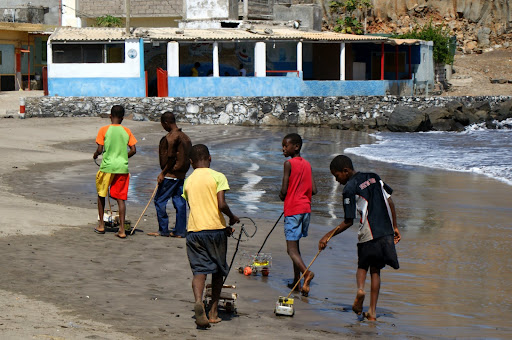 Crianças de Cabo Vrerde