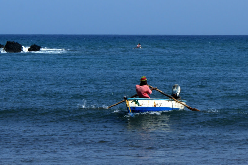 Pescador em Cabo Verde