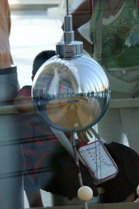 Os reflexos no pendulo