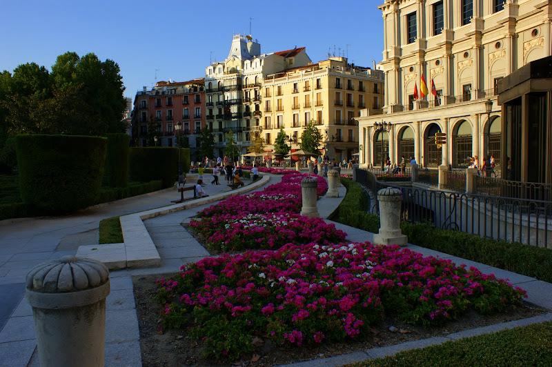 Fim de tarde em Madrid
