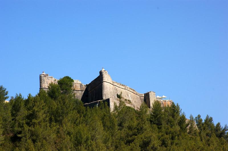 Vista do Castelo de São Felipe