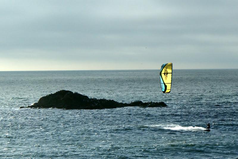 Kitsurf no Porto