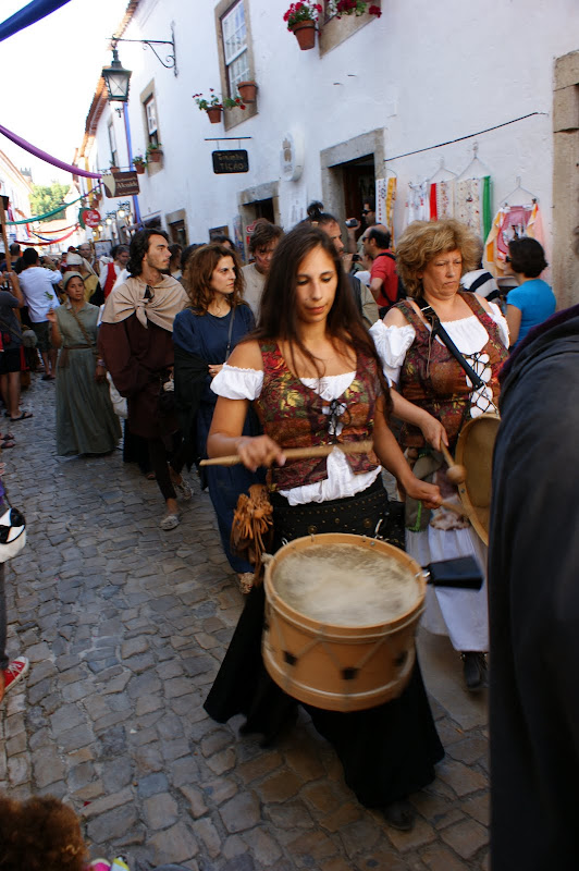 Tocadora de Tambor, Mercado Medieval, Óbidos