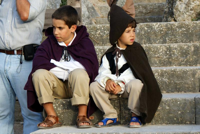 Mercado Medieval de òbidos, crianças