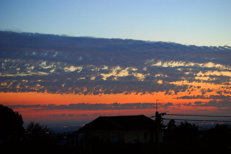 pôr do sol em Alviães