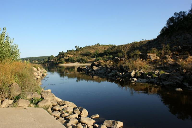 Rio Tejo em Almourol