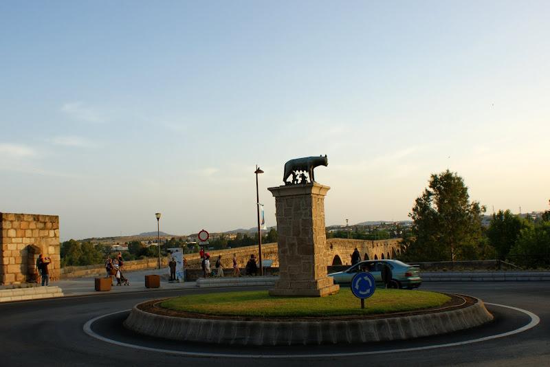 Mérida, estátua da Loba