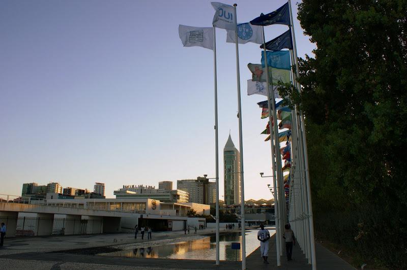 Fim de tarde no Parque das Nações
