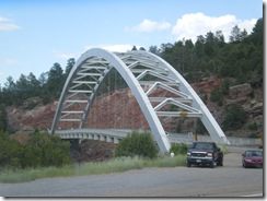 Flaming Gorge bridge
