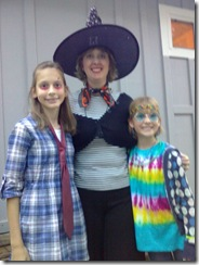 Dyer gals Halloween