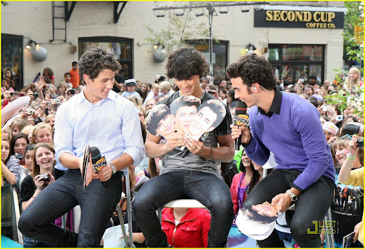 August 30, 2009: The Jonas Brothers appear on a special for MuchMusic called 'Live at Much' in Toronto, Canada.  Credit: Sean O'Neill/INFphoto.com Ref: infcato-05