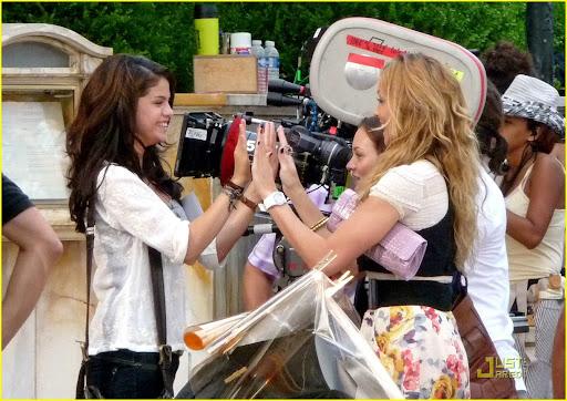 Selena Gomez y Leighton