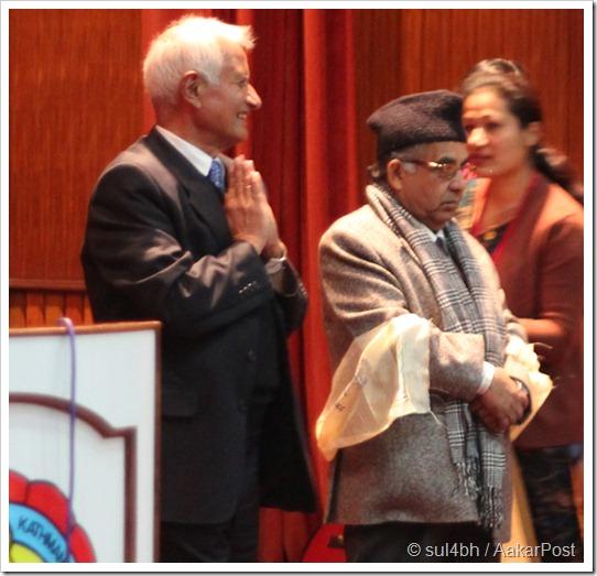 Dr. Suresh Raj Sharma and Daman Nath Dhungana