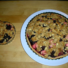 Fruit Crumble Tart