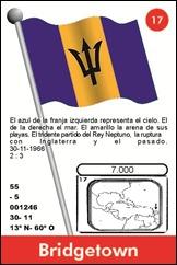 BANDERA BARBADOS 17