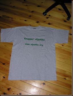 Knapper Alpakka t-skjorte